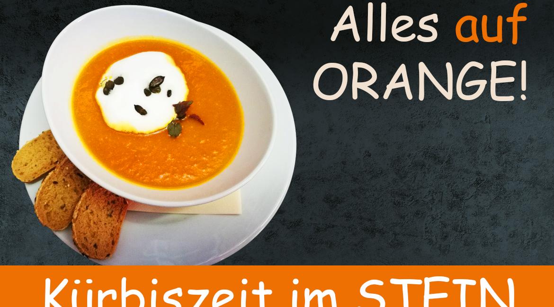 Alles auf orange – Kürbiszeit im STEIN